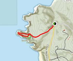 Cape Meares Lighthouse Loop Map