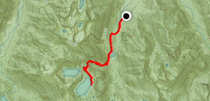 Trout Lake and Copper Lake via West Fork Foss Lakes Trail Map