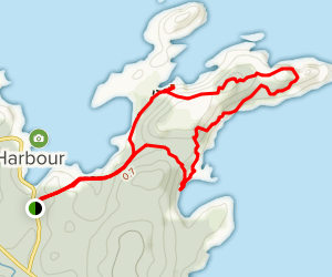 Lower Little Harbour Trail Map