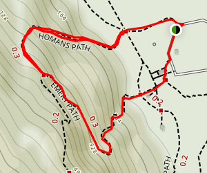Homans and Emery Path Map