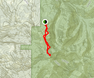 Silver Star and Ed's Trail Loop Map