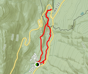 Silver Falls Trail Map