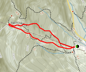 Stowe Mountain Map