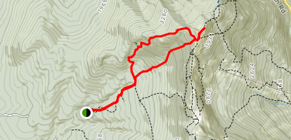 Laura Cowles Trail to Sunset Ridge Trail Loop Map