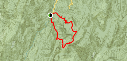 Las Pegueras Loop  Map