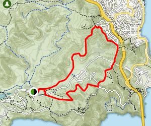Rodeo Valley, SCA and Julian Trail  Map