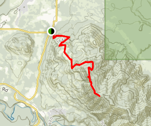 McDonald Mountain Trail Map