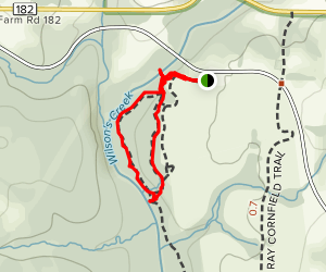 Gibson's Mill Trail Map