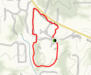 Sharon Springs Park Trail Map