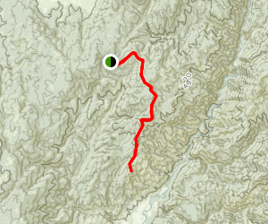 Bear Wallow Trail [PRIVATE PROPERTY] Map