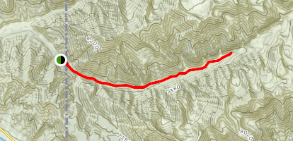Indian Creek Trail South Fork Map