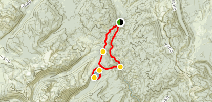 Loon Lake Loop Trail Map