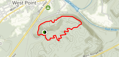 Fort Duffield Loop Trail Map