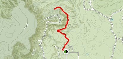 Ruby Bluffs Trail Map