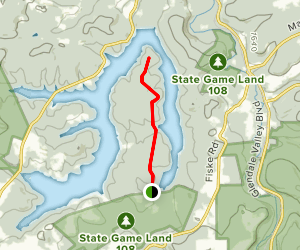 Troxell Point Map