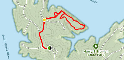 Bluff Ridge Trail Map