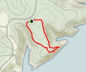 1000th Mile Trail Map
