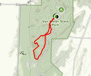 Earthworks Trail Map