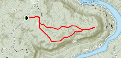 Pot Point Loop Trail Map