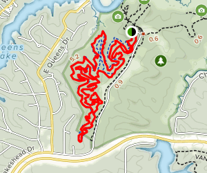 New Quarter Park MTB Trail Map