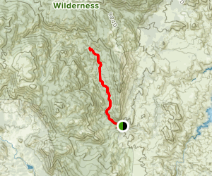 Goose Creek Trail 612 to McCurdy Trail  Map