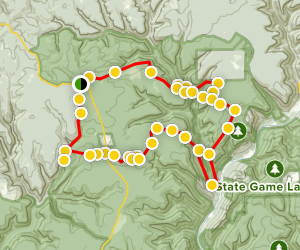 Black Forest North Loop Trail Map