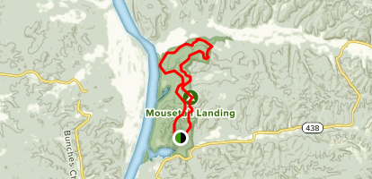 Eagle Point Trail Loop Map
