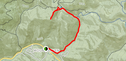 Reynold's Peak Map