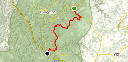 Sheltowee Trace: Section 23 Map