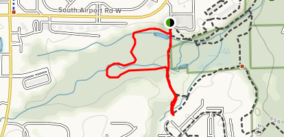 Miller Creek Nature Reserve and Horse Fly Trail Map