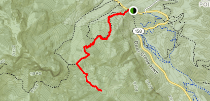 Fletcher Peak Map