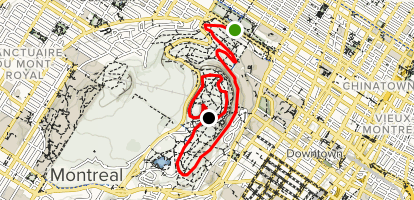 Olmsted Road Multi-Use Trail Map