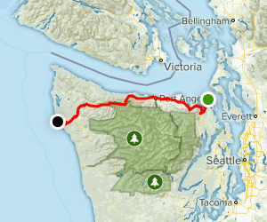 Olympic Discovery Trail Map