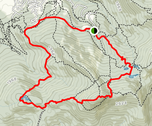 Round-Top and Lac Mohawk Map