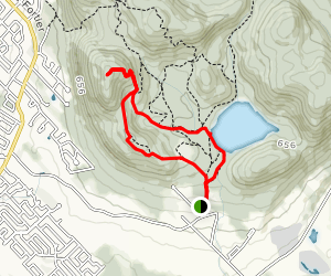 Sugar Loaf Mountain and Lake Hertel Loop Map