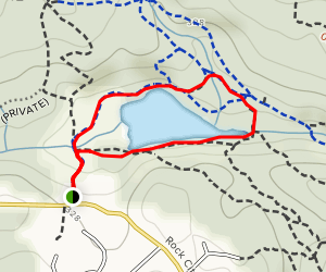Cottle Lake Loop Map