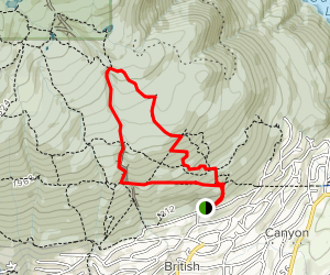 Brothers Creek Trail Map
