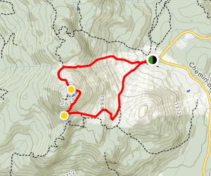 Mont Orford Loop Map