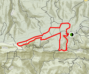 Cedar Forest and Arch of Portalas Loop Map