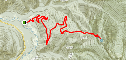 Moran Basin Trail Map