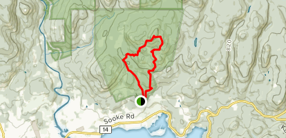 Mount Manuel Quimper Extended Loop Map