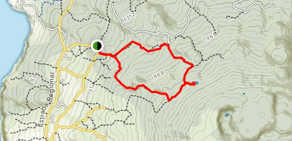 PRC3 TER Serreta Trail to Lagoinha Map