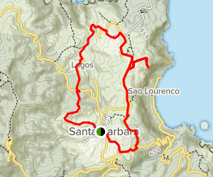 PRC3 SMA Between Sierra and the Sea Map