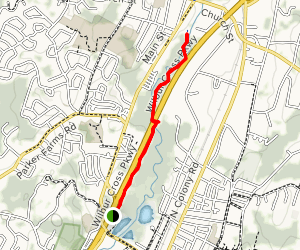 Quinnipiac River Trail: Wallingford Map