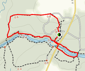 Ice Age Trail North Loop Map