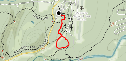 McKinley Station and Morino Loop Trail Map