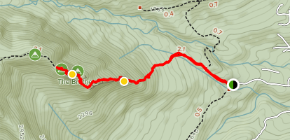 Brothers Trail: First Brother Map