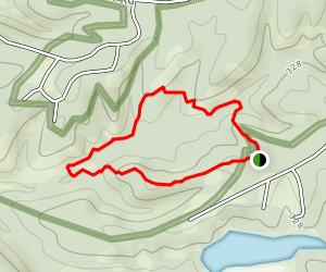 Woodland Trail 1 Mile Loop  Map