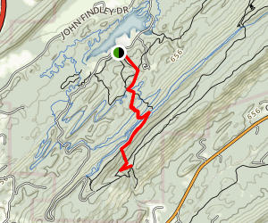 Tree Top and Falls Trail Map