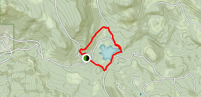 Cottonwood Meadows Trail Map